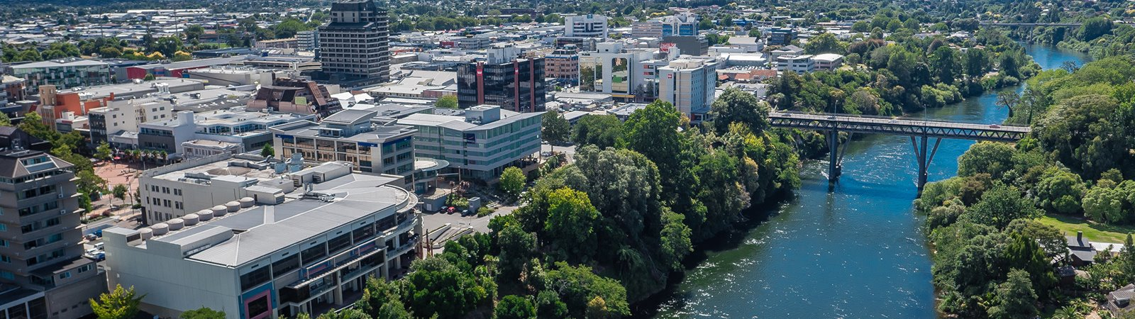 Hamilton City Council - Hamilton CBD and Waikato River WEB